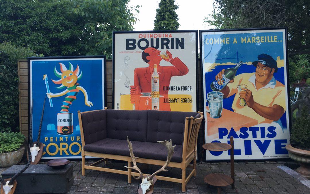 Five new exhibitors at Løkken Antique Fair